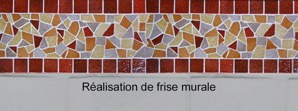 Cours de Mosaïque - frise murale