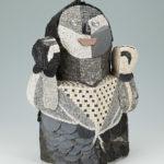 sculptures mosaïques-Bonhomme