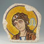 reproduction de mosaïques anciennes - Ange, Chapelle Montréale