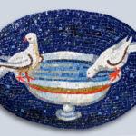 reproduction de mosaïques anciennes-Colombes- Ravenne