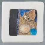 mosaïques sur chevalet- Fleur de plage 3