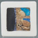 mosaïques sur chevalet-Fleur de plage 2