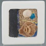 mosaïques sur chevalet- Fleur de plage 4