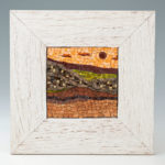 mosaïques sur chevalet - Coucher de soleil 1