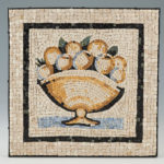 reproduction de mosaïques anciennes-pommes-Vatican