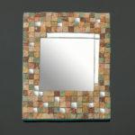 mosaïque sur objets-miroir automne