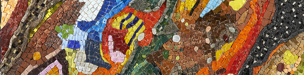 stage de mosaïque abstraite